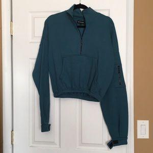 PrettyLittleThing zip up sweatshirt